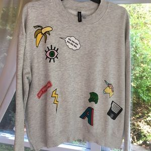 H&M Graphic Sweatshirt